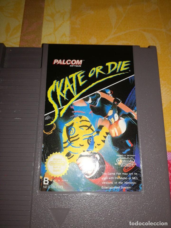 Videojuegos y Consolas: SKATE OR DIE, NINTENDO NES-DI-FRG, DIFICILISIMO. - Foto 3 - 76392095