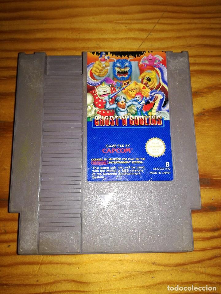 GHOST'N GOBLING, NES GG FRG. (Juguetes - Videojuegos y Consolas - Nintendo - Nes)