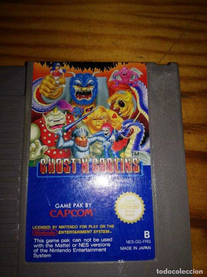 Videojuegos y Consolas: GHOST'N GOBLING, NES GG FRG. - Foto 3 - 76423119