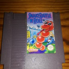 Videojuegos y Consolas: SNAKEATTLE N ROLL, NES RJ GPS.. Lote 76423847