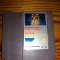 Videojuegos y Consolas: METROID, NES VERSION ESPAÑOLA,JUEGAZO.. Lote 76428207
