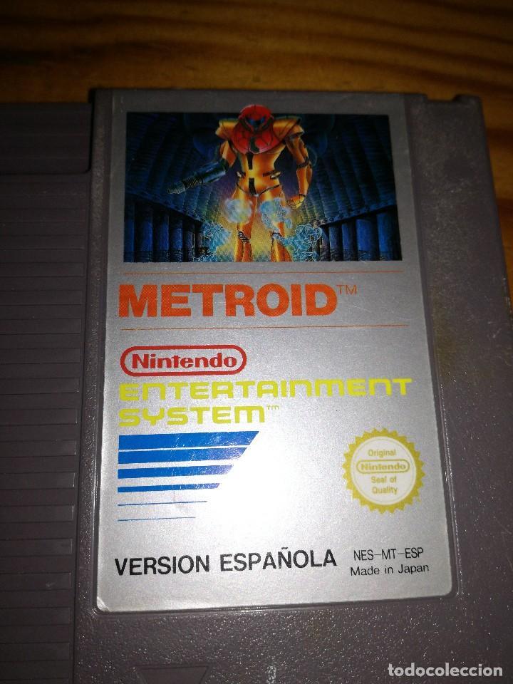 Videojuegos y Consolas: METROID, NES VERSION ESPAÑOLA,JUEGAZO. - Foto 3 - 76428207