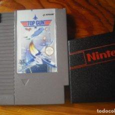 Videojuegos y Consolas: TOP GUN PARA NES + FUNDA. Lote 76497359