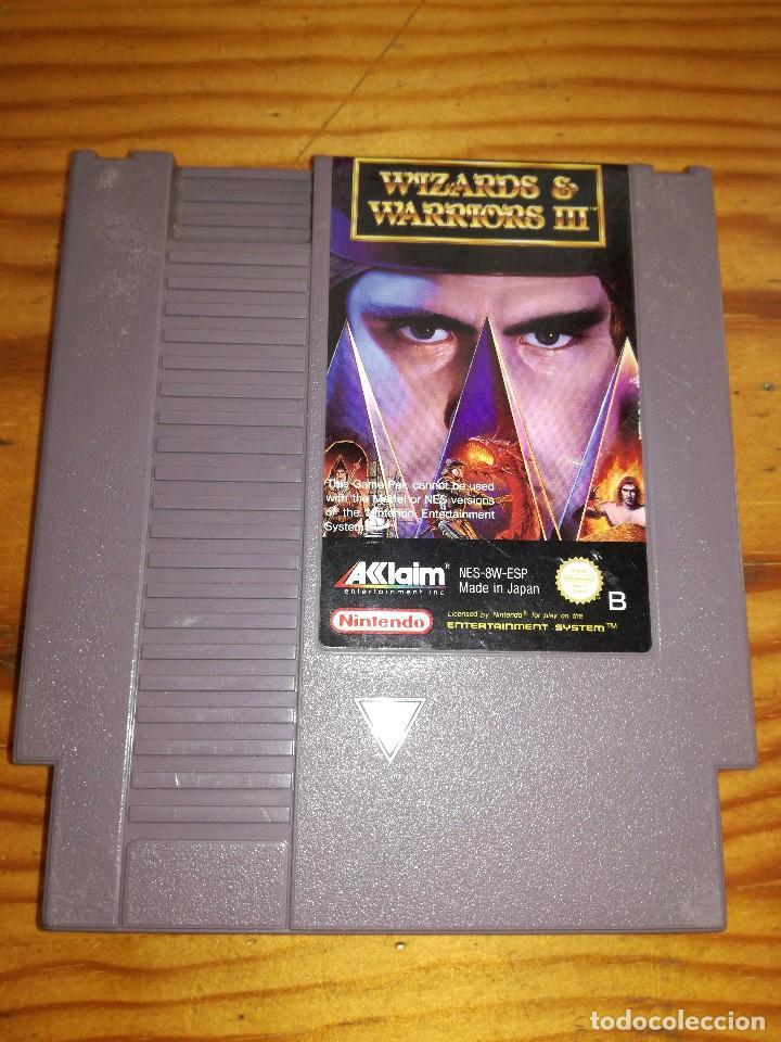 WIZARDS & WARRIORS 3, NES PAL ESP. (Juguetes - Videojuegos y Consolas - Nintendo - Nes)