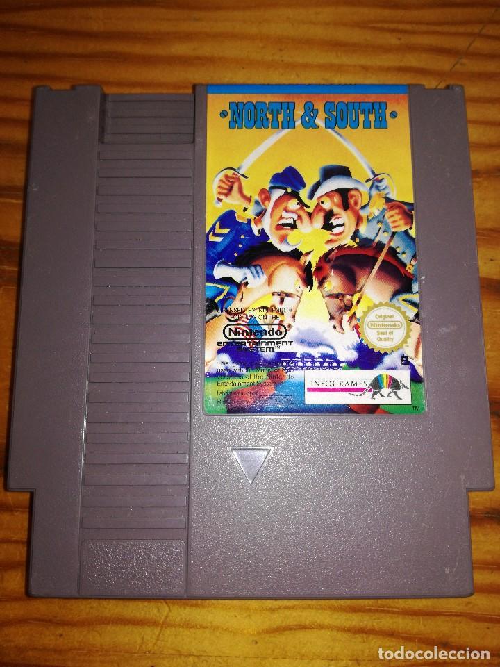 NORTH & SOUTH, NES-N5-FRA. (Juguetes - Videojuegos y Consolas - Nintendo - Nes)