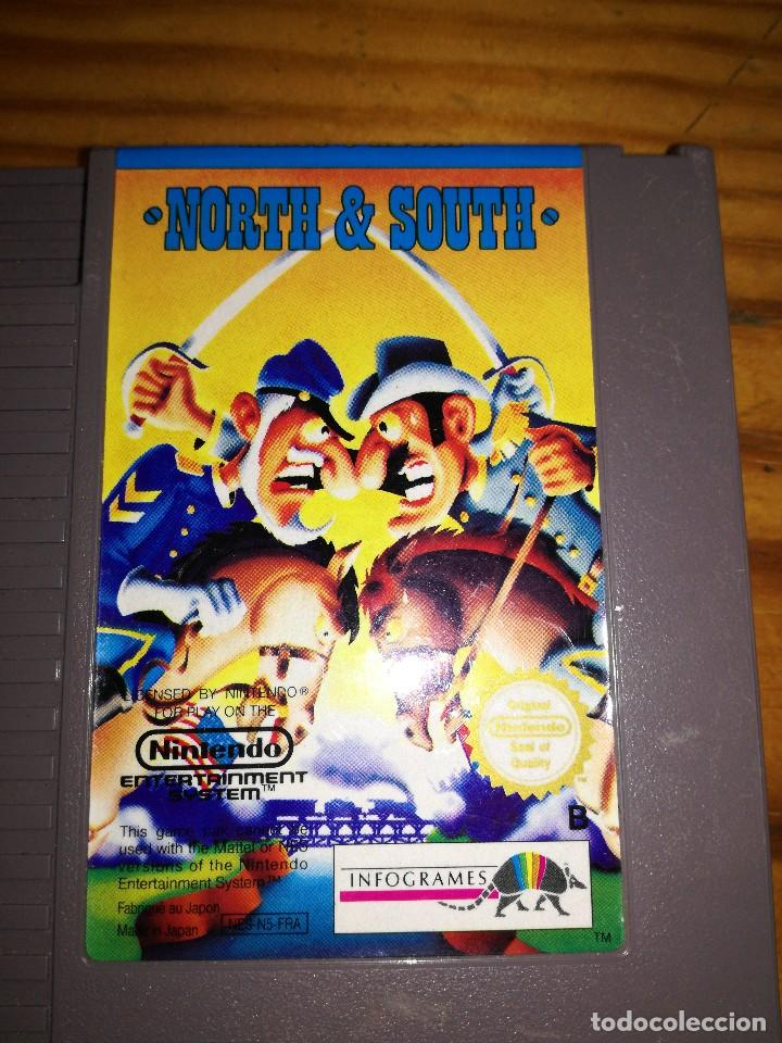 Videojuegos y Consolas: NORTH & SOUTH, NES-N5-FRA. - Foto 3 - 76499639