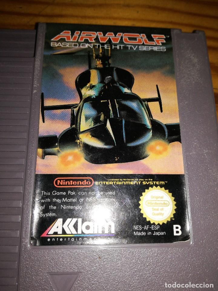 Videojuegos y Consolas: AIRWOLF, NES PAL ESP. - Foto 3 - 76506239