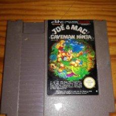 Videojuegos y Consolas: JOE & MAC: CAVEMAN NINJA, NES PAL.ESP.. Lote 76506619