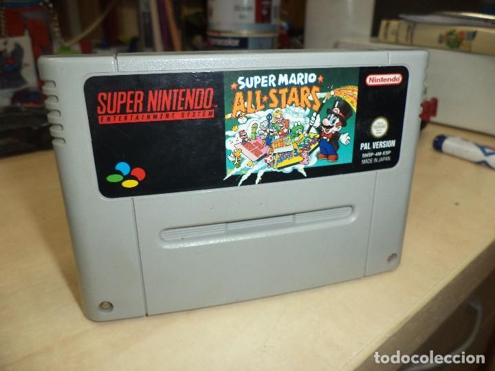 Video juego- Super Mario All Stars- Pal versión Esp Super Nintendo SNES