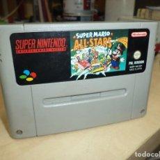 Videojuegos y Consolas: VIDEO JUEGO- SUPER MARIO ALL STARS- PAL VERSIÓN ESP.SUPER NINTENDO SNES.. Lote 76537459