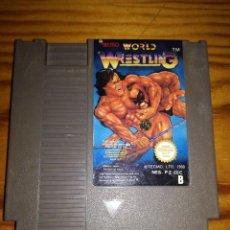 Videojuegos y Consolas: WORLD WRESTLING, NES PALB.. Lote 76564815