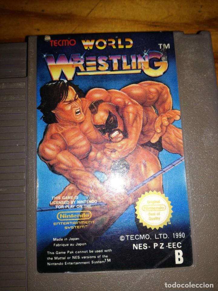 Videojuegos y Consolas: WORLD WRESTLING, NES PALB. - Foto 3 - 76564815