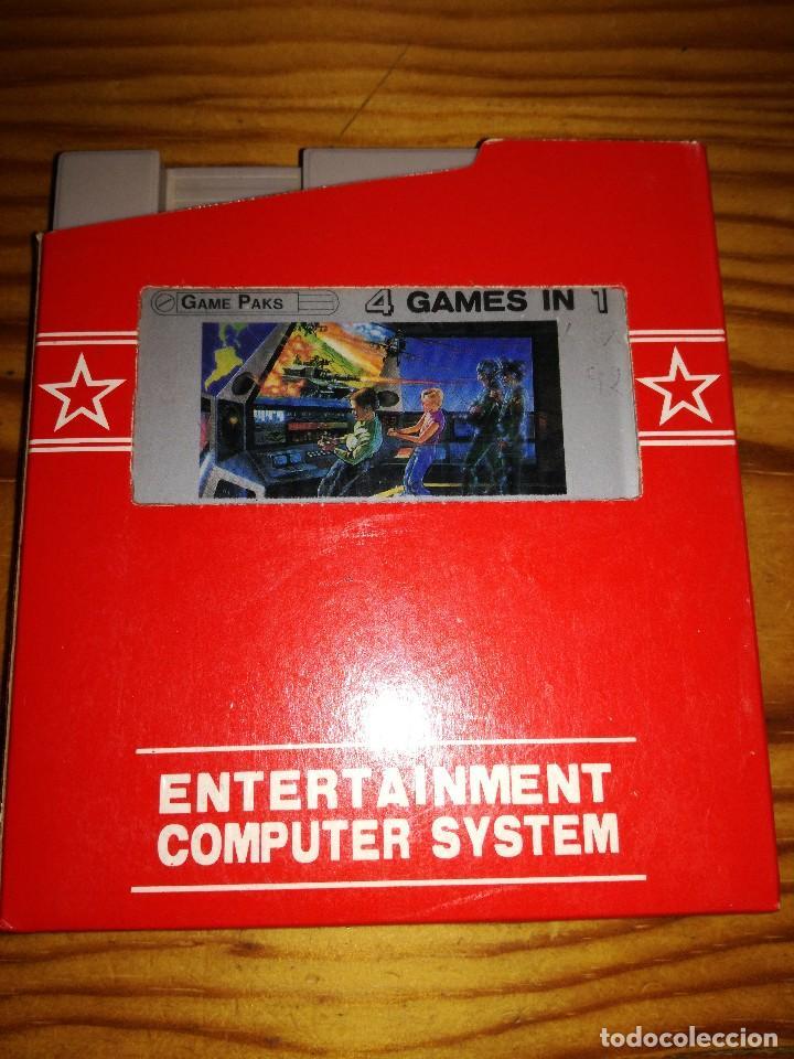 4 GAMES IN 1. (Juguetes - Videojuegos y Consolas - Nintendo - Nes)