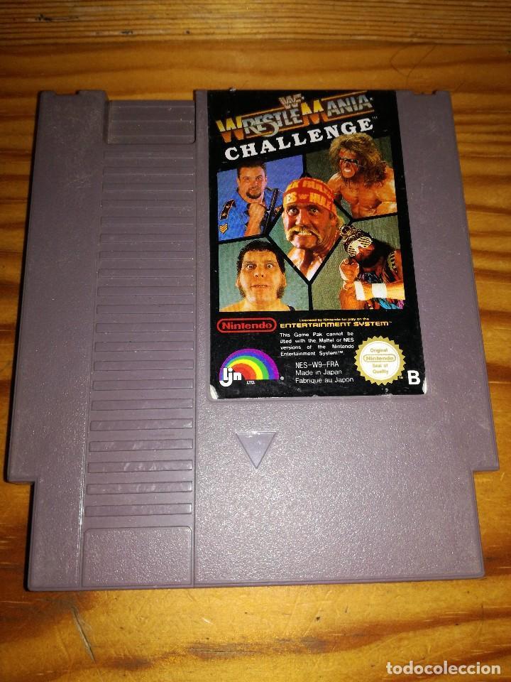 WRESTLE MANIA CHALLENGE, PAL B. (Juguetes - Videojuegos y Consolas - Nintendo - Nes)