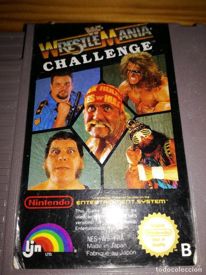 Videojuegos y Consolas: WRESTLE MANIA CHALLENGE, PAL B. - Foto 3 - 76568439