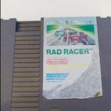 Videojuegos y Consolas: RAD RACER JUEGO PARA NINTENDO NES PAL. Lote 144552972