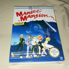 Videojuegos y Consolas: MANIAC MANSION NINTENDO NES . MUY NUEVO . Lote 77024585