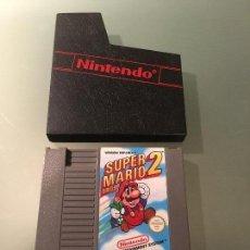 Videojuegos y Consolas: JUEGO SÚPER MARIO BROS 2 NINTENDO NES. VERSIÓN ESPAÑOLA. 1985.. Lote 77560585