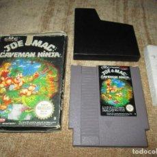 Videojuegos y Consolas: NINTENDO NES ~ JOE & MAC CAVEMAN NINJA ~ PAL / ESPAÑA. Lote 77733665