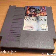 Videojuegos y Consolas: THE BATTLE OF OLYMPUS UEGO PARA NINTENDO NES PAL ESP VERSIÓN ESPAÑOLA CARTUCHO EN BUEN ESTADO. Lote 77807005