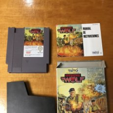 Videojuegos y Consolas: OPERATION WOLF NO HAGAS PRISIONEROS COMPLETO NINTENDO NES. Lote 78177123