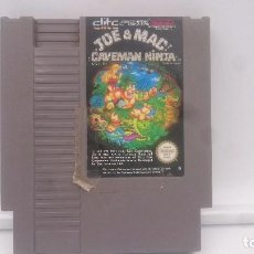 Videojuegos y Consolas: JOE & MAC CAVEMAN NINJA ESP PAL B ESPAÑA ESP NES.JEU GAME SPIEL ENVIO COMBINADO. Lote 82916984
