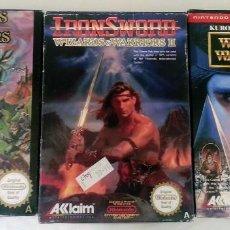 Videojuegos y Consolas: WIZARDS & WARRIOS I , II , III PAL NINTENDO NES. Lote 83379040