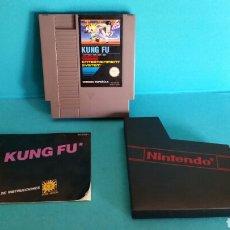Videojuegos y Consolas: JUEGO KUNG FU NINTENDO NES + INSTRUCCIONES. Lote 84494027