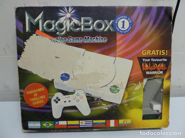 CONSOLA MAGIC BOX CLONICA DE NINTENDO NES (Juguetes - Videojuegos y Consolas - Nintendo - Nes)