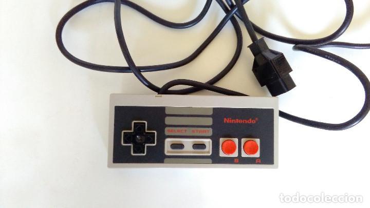 MANDO ORIGINAL NINTENDO NES. EN BUEN ESTADO. (Juguetes - Videojuegos y Consolas - Nintendo - Nes)