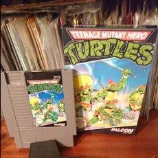 Videojuegos y Consolas: JUEGO DE LAS TORTUGAS NINJA PARA NES. Lote 85252800