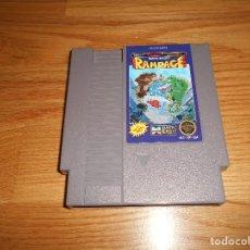 Videojuegos y Consolas: JUEGO DE CONSOLA NINTENDO RAMPAGE NES AÑOS 90. Lote 86304244
