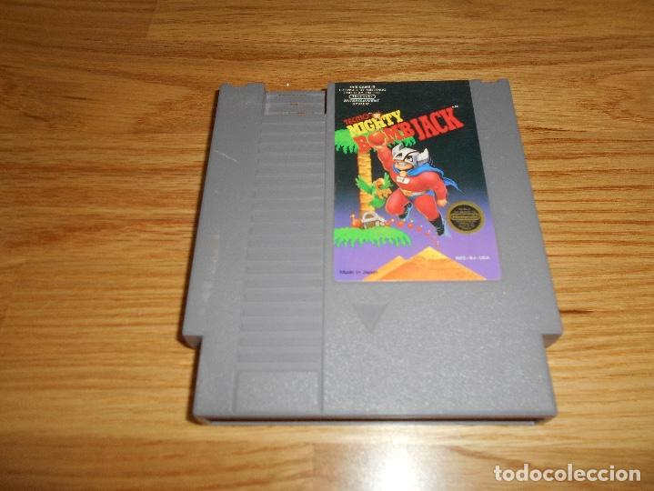 MIGHTY BOMB JACK JUEGO PARA NINTENDO BUEN ESTADO - BOMBJACK MIGHTY BOMB JACK BOMBJACK (Juguetes - Videojuegos y Consolas - Nintendo - Nes)