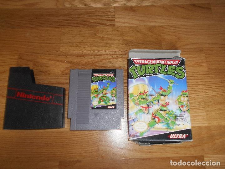 Juego Nintendo Nes Turtles Tortugas Ninja C Comprar