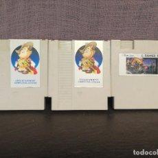 Videojuegos y Consolas: LOTE JUEGOS NINTENDO NES CLONICOS MULTIJUEGOS STREET FIGHTER . Lote 86589872