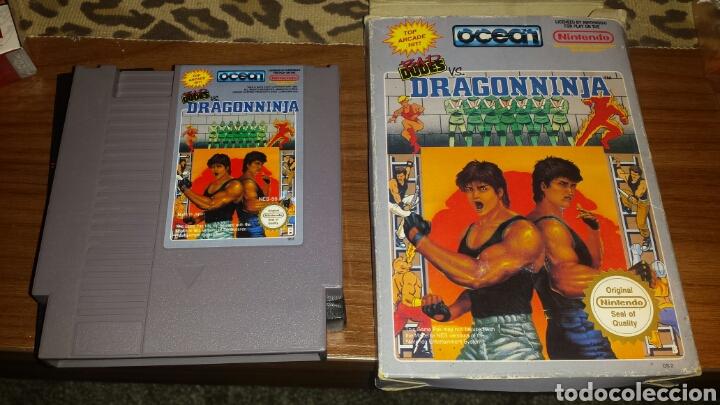Juego Dragon Ninja Nintendo Nes Comprar Videojuegos Y Consolas Nes