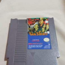 Videojuegos y Consolas: JUEGO NINTENDO NES GUN SMOKE PAL B EEC. Lote 86940347