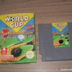NINTENDO WORLD CUP con caja NINTENDO NES Pal España