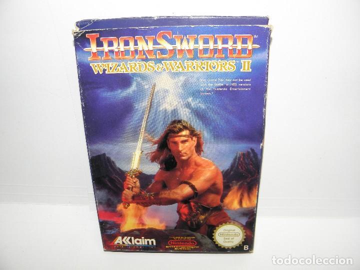 IRON SWORD - WIZARDS & WARRIORS II - NINTENDO NES - PAL ESP (Juguetes - Videojuegos y Consolas - Nintendo - Nes)