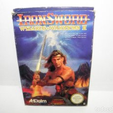Videojuegos y Consolas: IRON SWORD - WIZARDS & WARRIORS II - NINTENDO NES - PAL ESP. Lote 91169220