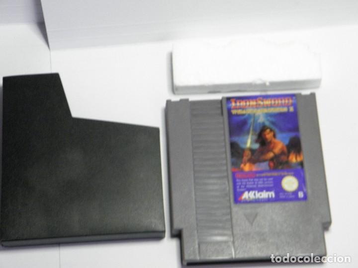 Videojuegos y Consolas: IRON SWORD - WIZARDS & WARRIORS II - NINTENDO NES - PAL ESP - Foto 5 - 91169220