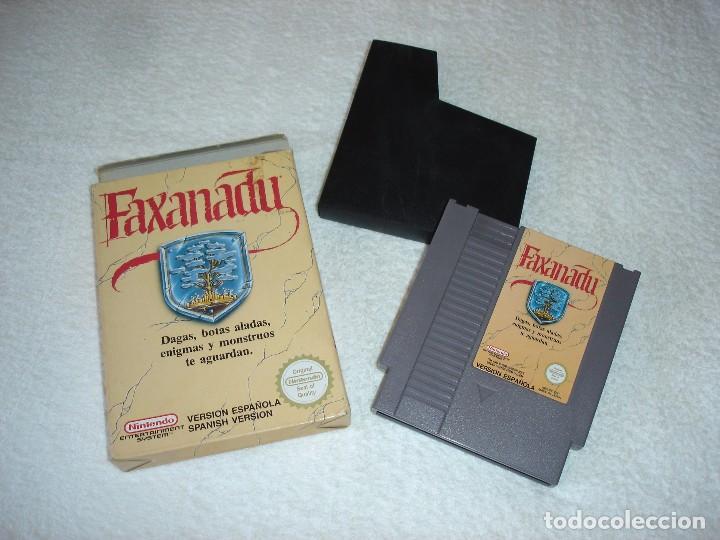 NINTENDO NES - JUEGO ORIGINAL: FAXANADU, PAL ESPAÑA (Juguetes - Videojuegos y Consolas - Nintendo - Nes)