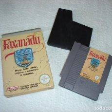 Videojuegos y Consolas: NINTENDO NES - JUEGO ORIGINAL: FAXANADU, PAL ESPAÑA. Lote 92449995