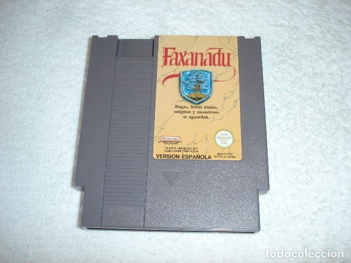 Videojuegos y Consolas: NINTENDO NES - JUEGO ORIGINAL: FAXANADU, PAL ESPAÑA - Foto 2 - 92449995