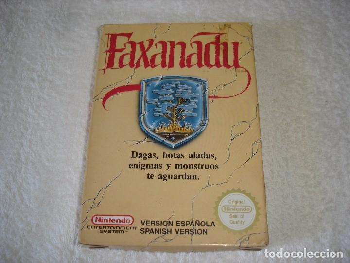 Videojuegos y Consolas: NINTENDO NES - JUEGO ORIGINAL: FAXANADU, PAL ESPAÑA - Foto 4 - 92449995