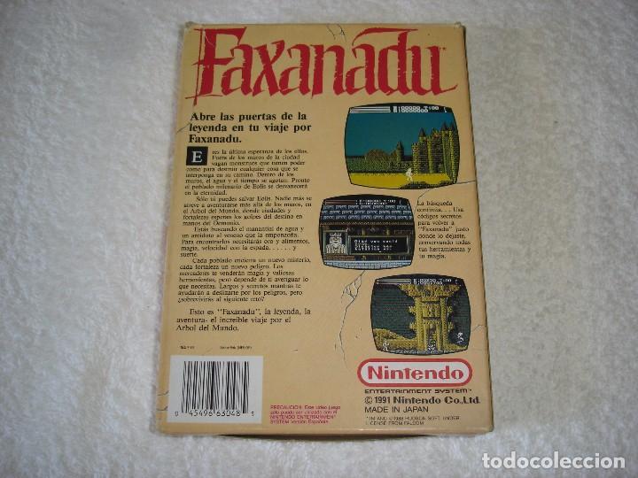 Videojuegos y Consolas: NINTENDO NES - JUEGO ORIGINAL: FAXANADU, PAL ESPAÑA - Foto 5 - 92449995