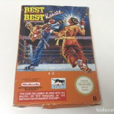 Videojuegos y Consolas: BEST OF THE BEST KARATE CHAMPIONSHIP. Lote 92765155