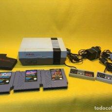 Videojuegos y Consolas: CONSOLA NINTENDO NES ORIGINAL MÁS JUEGOS AÑO 1987. Lote 93292425