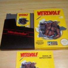 Videojuegos y Consolas: WEREWOLF VIDEOJUEGO NINTENDO NES. Lote 94051500