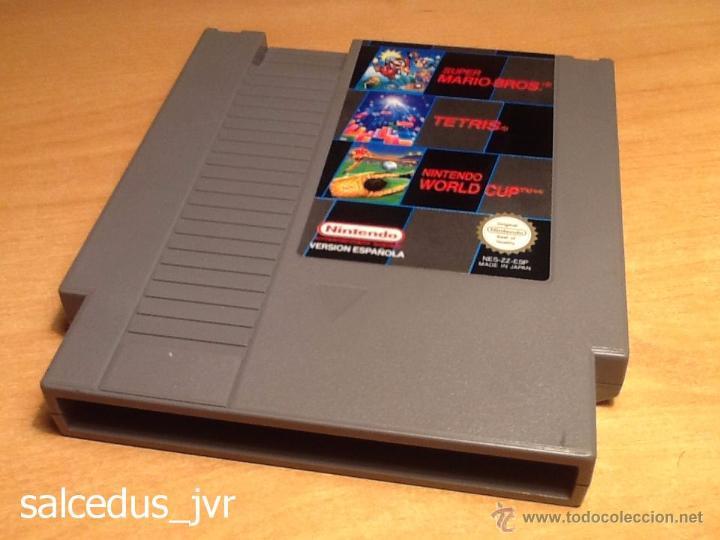 Super Mario Bros Tetris Y Nintendo World Cup Ju Comprar